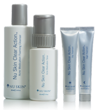 nuskin clear action